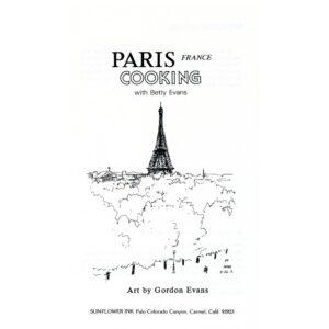 cookbook,paris cookbook,art,french cooking, recipes